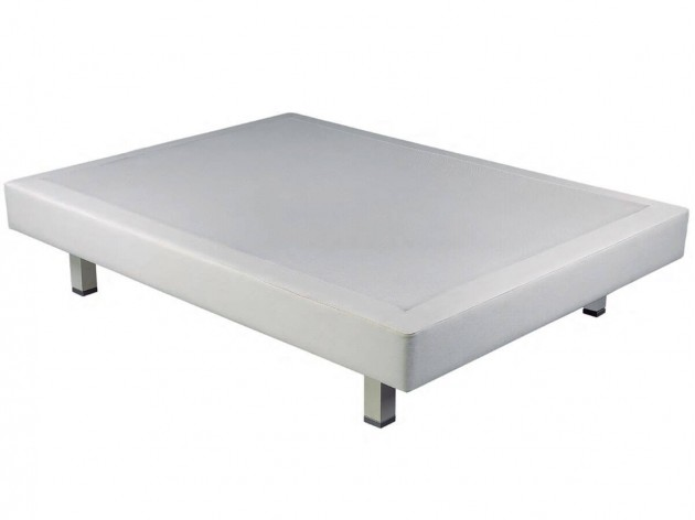Base Tapizada Ergobox de Pikolin blanco