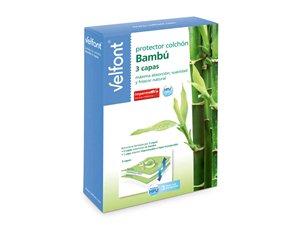 Packaging del Protector Impermeable de Colchón Bambú
