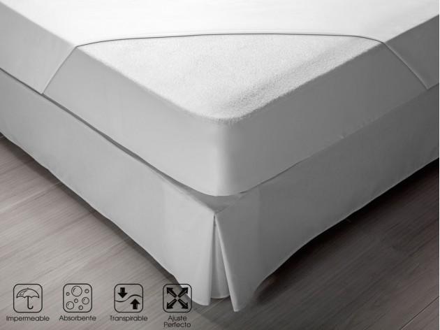 Protector colchon rizo impermeable transpirable pp05 pikolin home - Protector de colchones impermeables ...