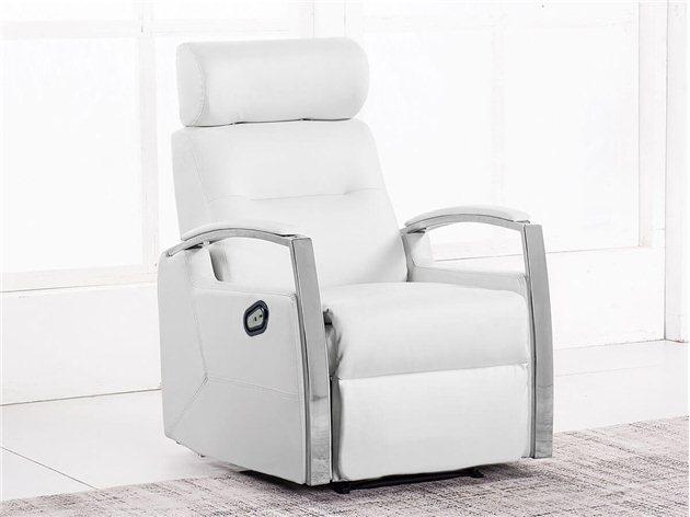 Sillón Relax Avant color blanco