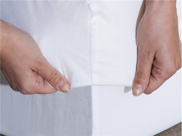 Protector de Colchón Antiácaros impermeable de algodón