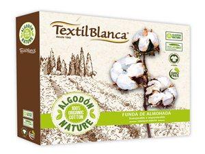 Protector de Almohada Ecológico Nature de Textil Blanca