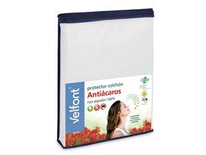 Packaging Protector de Colchón Rizo Antiácaros de Velfont