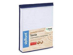 Packaging del Protector de Colchón Savia Tencel de Velfont