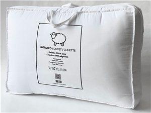 Edredón Nórdico de Lana Natural Bagés Textil